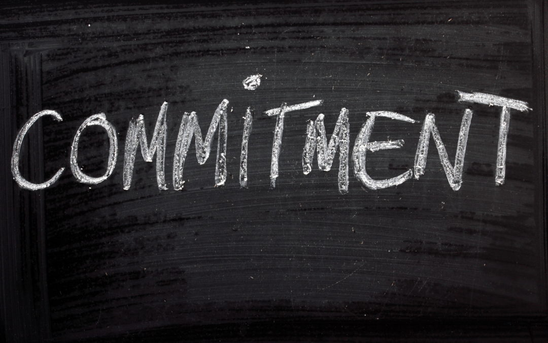 Why Keeping Commitments to Yourself Matters